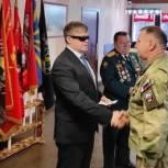 Владимир Вшивцев поздравил ветеранов вооруженных сил Домодедова с юбилеем организации