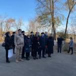 В саратовском селе открыта мемориальная доска в память о морском пехотинце, проявившем себя героем