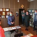 Ольга Окунева посетила учреждения культуры Рославльского района