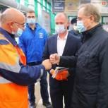 Единороссы проводят проверки масочного режима в общественном транспорте Люберец