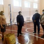 По проекту «Единой России» в скопинской школе №3 отремонтирован спортзал