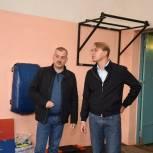Сергей Двойных посетил спортивный комплекс «Орбита» в поселке Реммаш
