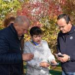 В Сасове депутаты-единороссы проверили качество работ на дворовых территориях