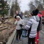 «Народный контроль» прошелся по улице Черняховского в Рыбинске