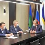 О развитии Нижневартовска – на встрече со спикером Думы округа