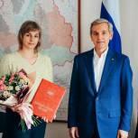 Тюменская медсестра получила областную награду за работу с пациентами с коронавирусом