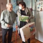 В Шацком районе чествовали старейшего члена партии