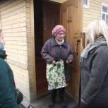 Больше 70 жителей Лузского района получили поздравления и подарки в честь Дня пожилых людей