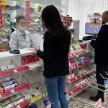 Партийцы проверили аптеки Волжского района Саратова на наличие препаратов от коронавируса
