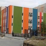 Строительство детского сада на 290 мест в Дашково-Песочне идет в соответствии с графиком