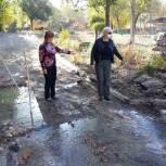 Депутат гордумы помогла оперативно устранить аварии на водопроводе в Ленинском районе