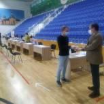Эдуард Живцов проконтролировал ход голосования в Шатуре