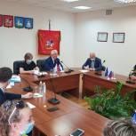 Одинцовские партийцы провели заседание партийного часа в Звенигороде