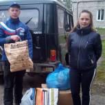 Лузские единороссы оказали помощь пострадавшим от пожара