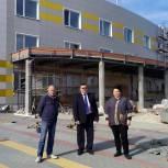 Депутат Госдумы оценила ход строительства ФОКа в Старожилово