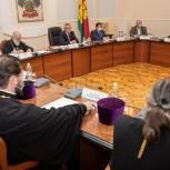 Кубанские парламентарии встретились с духовенством