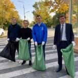 Члены и сторонники Жуковского местного отделения партии провели субботник
