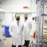 Дмитрий Волошин посетил Центр высоких технологий «ХимРар»