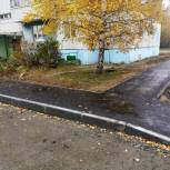 В 7А микрорайоне Тобольска полным ходом идет благоустройство дворов