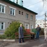 Секретарь местного отделения «Единой России» оценила качество и безопасность «Городской среды» в Велиже