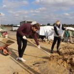 Волонтёры посетили приют для бездомных животных «Альфа»
