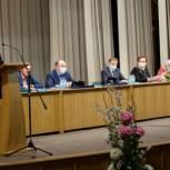 Оксана Козловская приняла участие в конференции профсоюзов