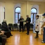 В Уфе открылся специализированный пункт вакцинации от ковида для граждан 65 +