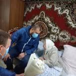 Депутаты «Единой России» помогли старейшему жителю Минераловодского округа