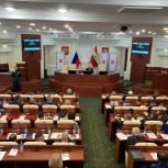 Единоросс Юрий Амерев избран председателем Курской областной Думы