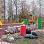 В Кохме завершается установка детской площадки в рамках проекта «Детское пространство.37»