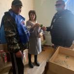 В Приютненском районе оказывают гуманитарную помощь в период пандемии