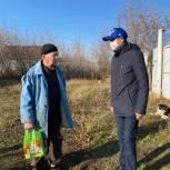 В Уфе волонтер доставил на дом лекарства пожилому мужчине
