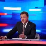 Дмитрий Азаров призвал жителей к вакцинации от коронавируса