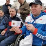ГТО доступно всем: Татьяна Ильюченко вручила знаки ГТО спортсменам с ограниченными возможностями здоровья