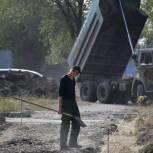 Продолжается мониторинг ремонта тротуаров в Заводском районе Саратова