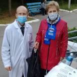 Чучковскую районную больницу обеспечили средствами индивидуальной защиты