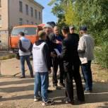 Панков обратится в прокуратуру по поводу движения строительной техники на территории балаковской школы