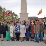 Памятник в селе Юрьево обновили благодаря инициативе местных жителей