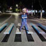 По инициативе единороссов в Дагестане появился первый 3D-переход для пешеходов