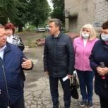 Панков: Мнение жителей будет решающим при сдаче готовых тротуаров в эксплуатацию