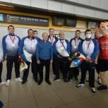 Уральские волейболисты-паралимпийцы вернулись в Екатеринбург