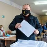Олег Мельниченко проголосовал на выборах депутатов Государственной Думы и губернатора Пензенской области