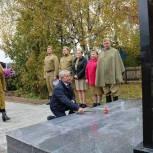 В селе Троица Пировского муниципального округа открылся памятник фронтовикам