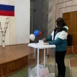 Молодогвардейцы Пензенской области участвуют в процедуре голосования