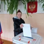 Копейск: Голосуют волонтеры