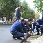 В Еманжелинске проверили качество асфальтирования улицы Чкалова