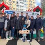 Партийцы Солнечногорска приняли участие в экологической акции «Экодвор»