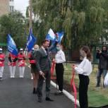 В Салавате в рамках проекта «Реальные дела» в детском саду появилась спортивно-игровая площадка