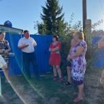 Депутат Сергей Агапов обсудил жителями Заводского района вопросы благоустройства