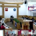 Кан-оол Даваа обсудил основные направления деятельности региональных властей на еженедельном аппаратном совещании